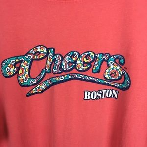 Cheers Boston Comfort Colors T-shirt Size Large